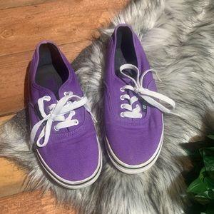 Purple Kids Vans